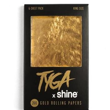 Tyga x Shine® King Size 6-Sheet Pack