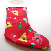 Spong Bob Square Pants, Childs Christmas Stocking