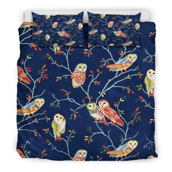 Owl Bedding Set | Owl Bedding Twin/ Queen/ King Size