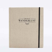 Wanderlust Travel Journal - Urban Outfitters