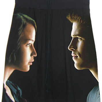 Gale & Katniss Hunger Games T-Shirt Skirt