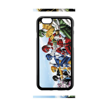 Mighty Morphin Power Rangers Art iPhone 6 Case