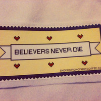 Believers Never Die Fall Out Boy Pixel Patch