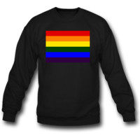 rainbow flag sweatshirt crewneck