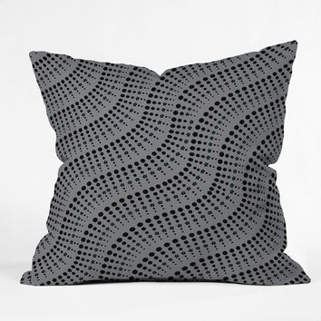 Heather Dutton Coral Reef Outdoor Throw Pillow
