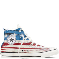 Chuck Taylor All Star US Flag Print