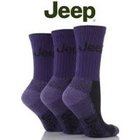 All Things Jeep - Jeep Womens Luxury Boot Socks (3-pack), Plum