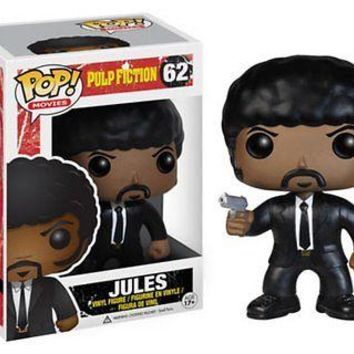 Funko Pop Movies: Pulp Fiction - Jules Viny Figure