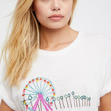 Free People Ferris Wheel Tee
