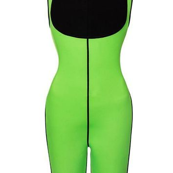 Undetectable Large Mid-Thigh Bodysuit Shaper Open Bust