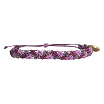 Braided Tri-Color Wanderlust Bracelet