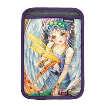 Girl Swordsman iPad Mini Sleeve