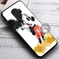 Mickey Mouse Splatter Painting iPhone X 8 7 Plus 6s Cases Samsung Galaxy S9 S8 Plus S7 edge NOTE 8 Covers #SamsungS9 #iphoneX