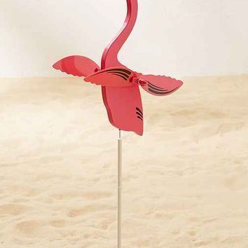 Whirly Flamingo Lawn Ornament