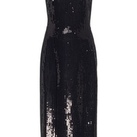 Sequin Tank Pencil Dress | Moda Operandi