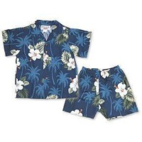 hilo hawaiian boy cabana set