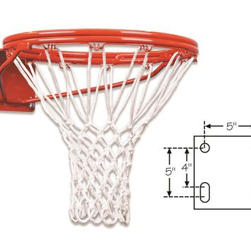 First Team Heavy Duty Double Rim Fixed Basketball Goal FT170D