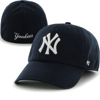 '47 New York Yankees Navy Game Franchise Fitted Hat
