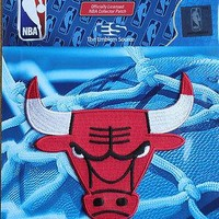 NBA Patch Chicago Bulls Team Logo Sew or Iron On Official Licensed