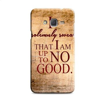 Harry Potter Quotes-I Solemnly Swear That I Am Up To No Good Samsung Galaxy J7 2015 | J7 2016 | J7 2017 Case