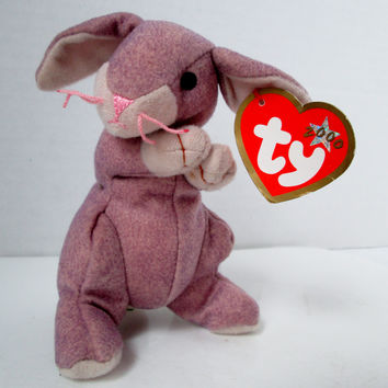 Teenie Beanie Springy the Lavender Bunny McDonalds Promotion 2000