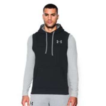 Under Armour Men's UA Rival Fleece Sleeveless Hoodie