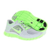 Nike Women's WMNS FREE RUN 3, WOLF GREY / ELECTRIC GREEN, 11.5 M US