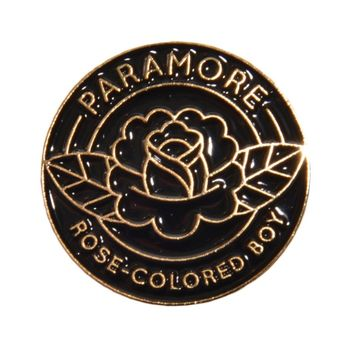 Rose Colored Boy Enamel Pin - Paramore - Artists