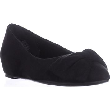Bandolino Ressie Knot Wedge Pumps, Black, 10 US