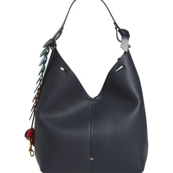 Anya Hindmarch Small Circles Leather Hobo | Nordstrom