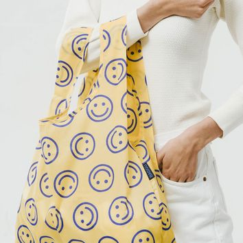 Goldenrod Happy Market Bag - Yellow