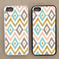 Cute Abstract Geometric Chevron iPhone Case, iPhone 5 Case, iPhone 4S Case, iPhone 4 Case - SKU: 165