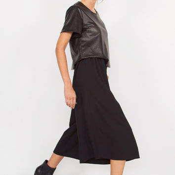 Black Gaucho Pants