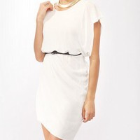 Asymmetrical Bubble Hem Dress | FOREVER21 - 2000043637