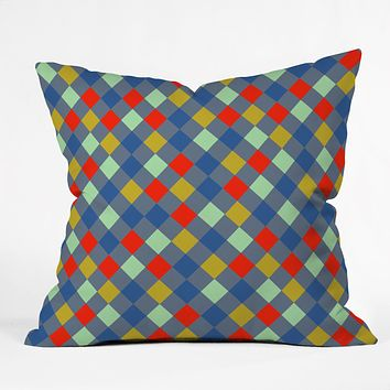 Caroline Okun Cerise Throw Pillow