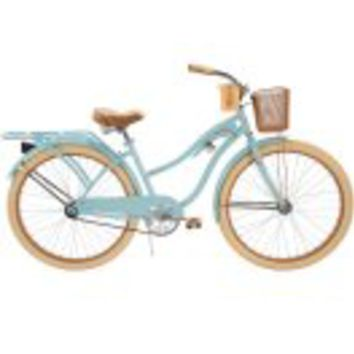 """Huffy 26"""" Womens' Nel Lusso Cruiser Bike with Perfect Fit Frame, Blue - Walmart.com"""