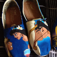 Hand Painted Aladdin Toms