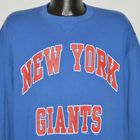 80s New York Giants Sweatshirt Large