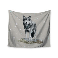 "Monika Strigel ""Wolf"" Wall Tapestry"