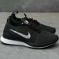Nike Air Zoom Mariah Flyknit Fashion Trending Casual Sports Shoes Sneakers Black G-XYXY-FTQ