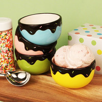We All Scream for Ice Cream Bowl Favors