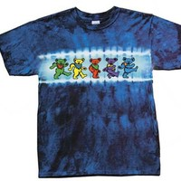 Grateful Dead Kids T-shirt - Dancing Bears Tie Dye Tee Shirt