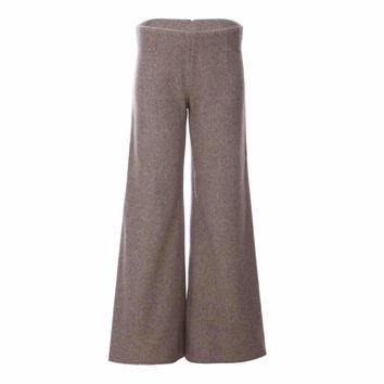 Sahara Trousers In Cashmere Wool Gazelles Of The Desert