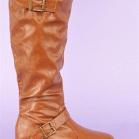 Riding Knee High Boot - Chestnut at Necessary Clothing