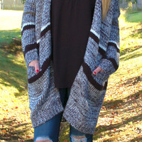 Wrapped Up In Retro Cardigan