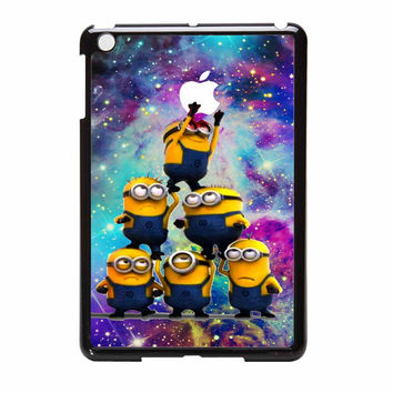 Despicable Me Minions In Galaxy Logo iPad Mini Case
