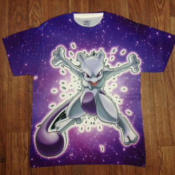 Pokemon Mewtwo Shirt unisex Youth & Adult size tshirts USA Handmade *Fast Shipping*