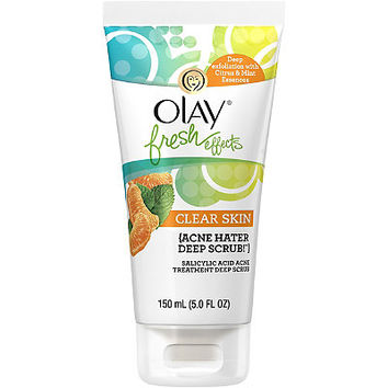 Olay Fresh Effects Clear Skin Acne Hater Deep Scrub