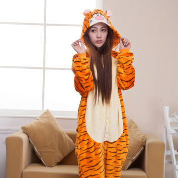 Cartoons Animal Lovely Home Winter Sleepwear [6819625415]