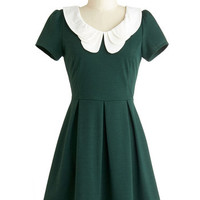 Looking to Tomorrow Dress in Evergreen | Mod Retro Vintage Dresses | ModCloth.com